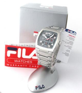 Fila Uhr Fashion Fa590 - 01 Sport Mens Multifunction Watch Time Art.  251.  154 Bild