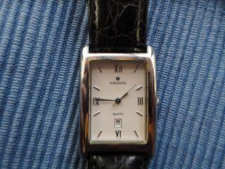 Junghans Uhr Mineralglas - 3 Bar Datumsanzeige Damenarmbanduhr Bild