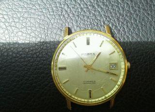 Porta Uhr Goldplattierung Datum =》preisvorschlag Willkommen《= Bild