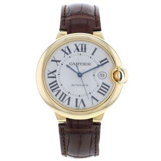 Armbanduhr Herren Cartier Ballon Bleu W6900551 18 Karat Gelbgold Automatik Bild