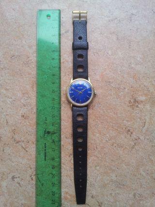 Roamer Brevete Swiss Made Uhr Blau Schwarz Bild
