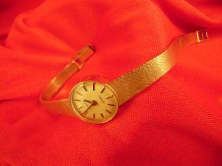 Tissot Le Locle Damen Armbanduhr Massiv Gold 585 Bild