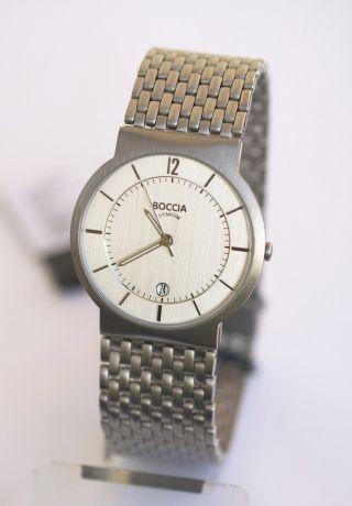 Boccia Herren - Uhr Reintitan; Mit Titan - Band,  3514 - 05 Bild