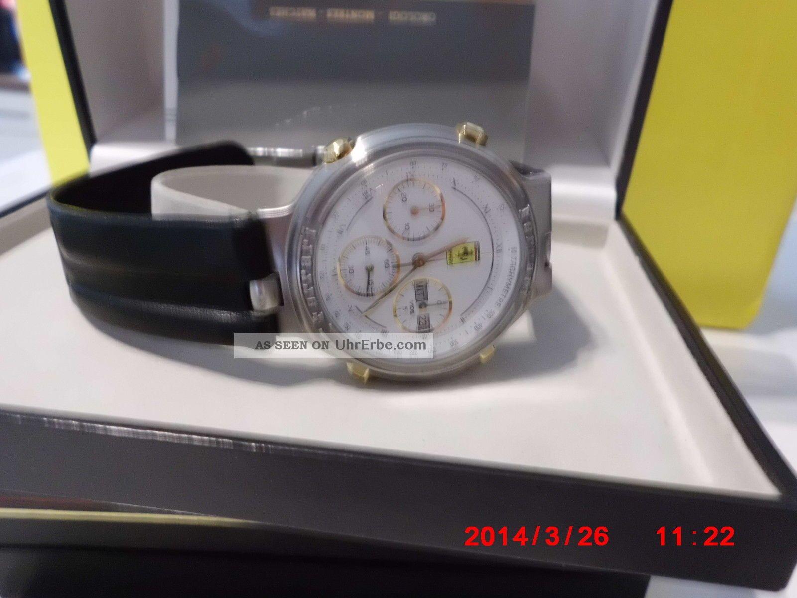 Ferrari Chronograph Uhr Formula Serie Hau Chrono Armbanduhren Bild