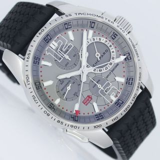 Chopard Mille Miglia Gt Xl Chrono Split Second Limited Stahl Ungetragen Uhr Bild