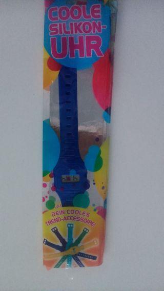 Damenuhr Armbanduhr Coole Silikonuhr Bild