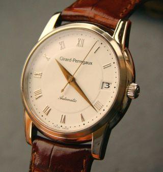 Girard Perregaux Classique Elegante Luxus Automatik Herren Armbanduhr Ref.  9043 Bild