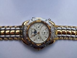 Schweizer Qualität Mit Tradition Laurine Armbanduhr,  Unsex,  Bicolor Uvp 399€ Bild