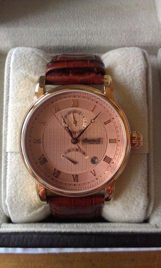 Ingersoll Armbanduhr Für Herren,  Lederarmband In Braun Bild