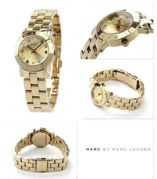 Marc By Marc Jacobs Mbm3218 Uhr Damen Np199,  - Gold Neumetikett Box So Miu Kors Bild