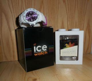 Ice Watch Uhren Mit Swarovski Elements Neuw Bild