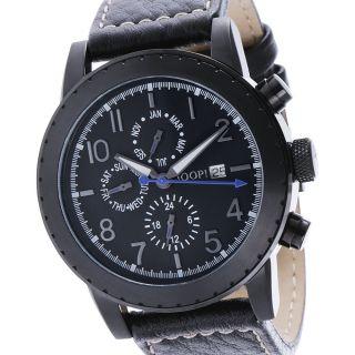 Joop Damen & Herren Uhr Jp100631f05 Schwarz Leder, Bild