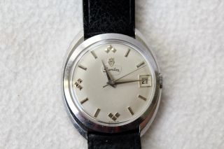 Vintage Sandoz Angelus Automatic 25 Jewels Armbanduhr. Bild