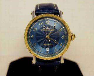 Jaques Lemans Automatic Herren Armbanduhr (nr.  660) Mit Eta 2824 - 2 Bild