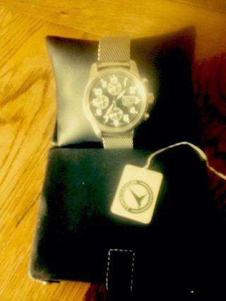 Herrenarmbanduhr,  Analog,  Messerschmitt Automatik - Chronograph Bild