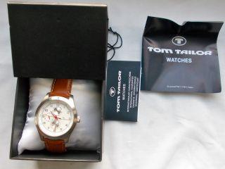 Tom Tailor Herren Armbanduhr Analog Quarz Uhr Nr.  5409602 Bild