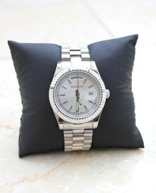 Michael Kay Herren Uhr Day Date Elegante Bild