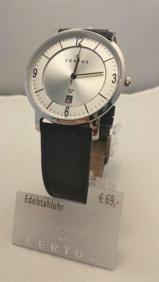 Certus Uhr Herren Armbanduhr Modell 610948 Bild