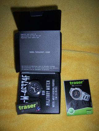 Traser H3 P 5900 Type 3 Militäruhr,  Us Army,  Und Ovp Bild
