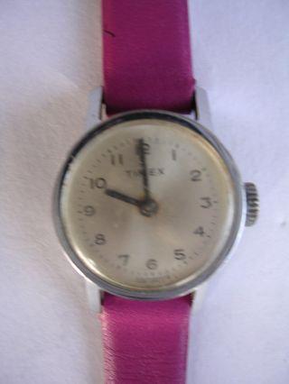 Für Sammler Handaufzug Vintage Damenruhr Timex Dau Aus Nachlass Bild