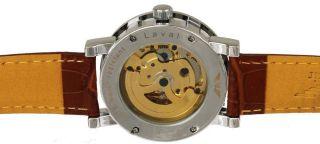 Uhr Minoir Laval Weiß Bild
