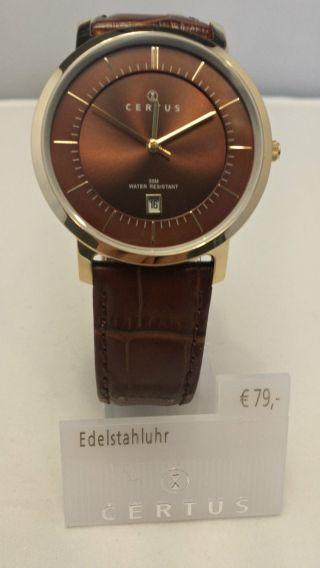 Certus Uhr Herren Armbanduhr Modell 612360 Bild
