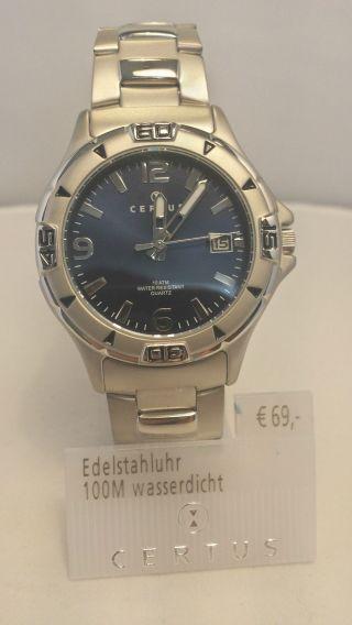 Certus Uhr Herren Armbanduhr Modell 616250 Bild