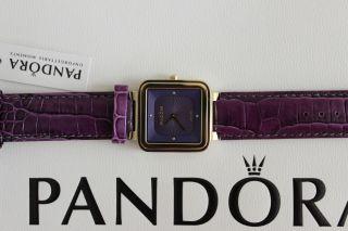 Pandora Grand Cushion Damenuhr Armbanduhr Uhr Lila Bild