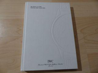 Iwc Katalog Kollektion 2000 Bild