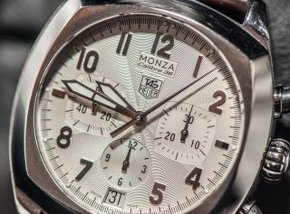 Tag Heuer Monza Calibre 36 Chronograph - El Primero Basis - Uhrwerk Zenith - Rar Bild