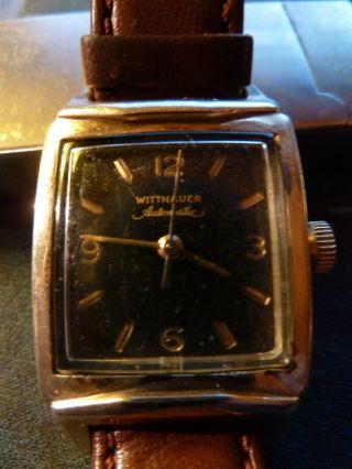 Armbanduhr.  Wittnauer.  Automatic.  Ca.  1950.  Vergoldet Bild