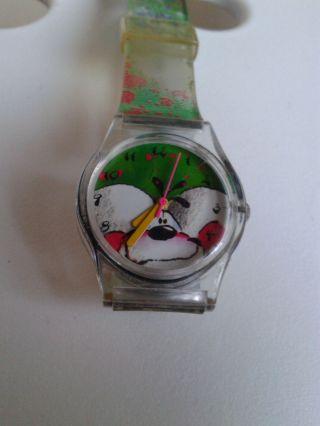Diddl Maus Armbanduhr Grün Sammlerstück Bild