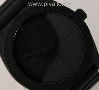 Adidas Santiago Herrenuhr / Herren Silikon Black Xl Adh2710 Bild