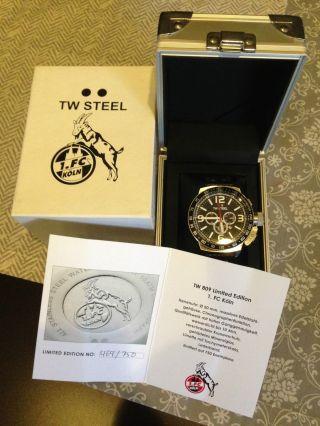 Tw Steel Limited Edition 1.  Fc Köln Ungetragen 2er Kombi Damen Und Herren Uhr Bild