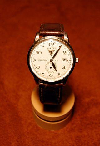 Junkers Uhr Fliegeruhr Serie Dessau 1926 Flatline 6334 Analog Bild