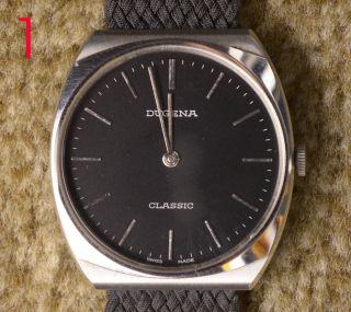 3 ältere (vintage) Dugena Classic Armbanduhren Handaufzug Bild