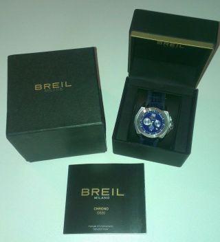 Breil Milano Bw0328 Herrenuhr Armbanduhr Chronograph Ovp Mit - Zertifikat Bild
