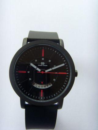 Danish Design Uhr Watch 3314460 Edelstahl Schwarz Dänisches Design Iq24q1046 Bild