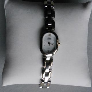 Helene Junghans 046/0231 Damen Armbanduhr Stainless Steel Vergoldet 3atm Wr Bild