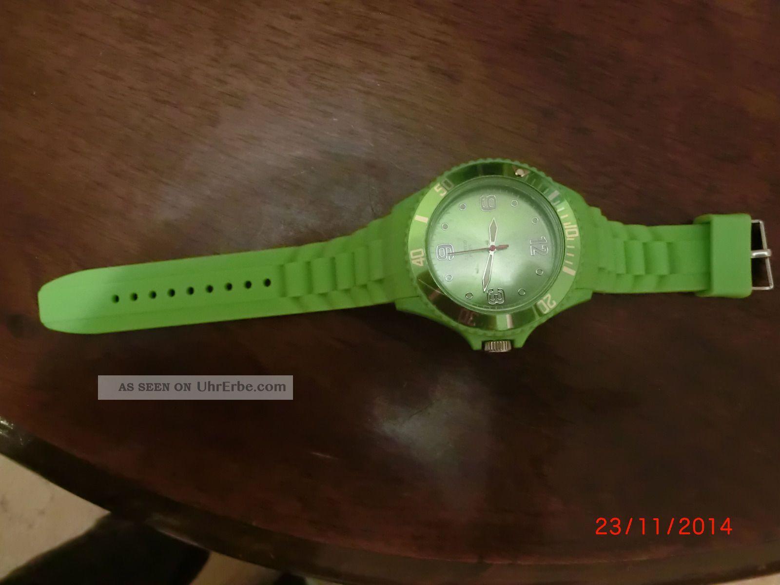 Armbanduhr Unisex Grün Armbanduhren Bild