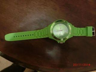Armbanduhr Unisex Grün Bild