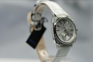 Joop Damenarmbanduhr Jp100342/04 Retro Weiß Luxus Uhr Lederarmband Edel Bild