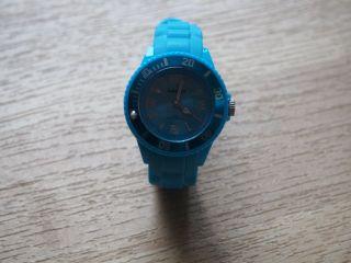 Damen Uhr,  Armbanduhr,  Blau - Neuwertig Bild