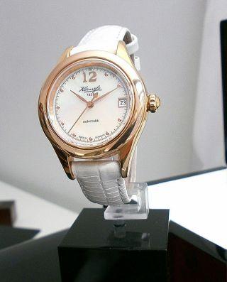 Kienzle Damenuhr Automatik Leder Armband Saphirglas Bild