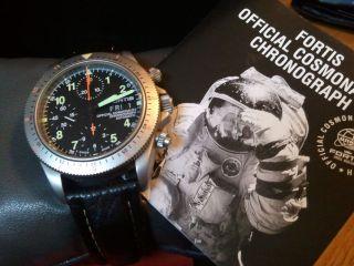 Fortis Cosmonauts Automatic Chronograph,  Lünette Mit 2.  Zeitzone Bild