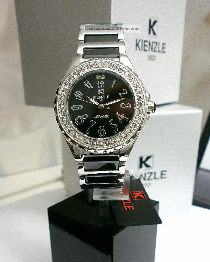 Armband Ceramic Damenuhr Kienzle Metall Mit WR10bar bfyg7IY6v