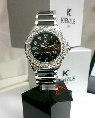 Kienzle Damenuhr Metall Armband Mit Ceramic W.  R.  10bar Bild