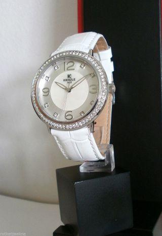 Kienzle Damenuhr Leder Armband 5 Barw.  R. Bild