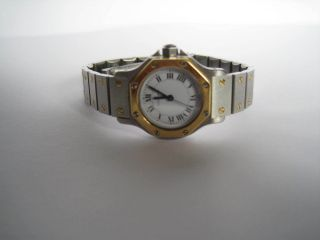 Damen Cartier Uhr,  Modell Santos Automatique,  25mm Bild