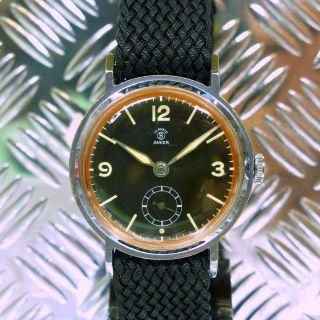 Vintage Echte Top 30èr Jahre Bifora Anker 102 Rar Armbanduhr Bild